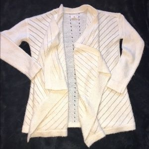 Wool Waterfall Cardigan